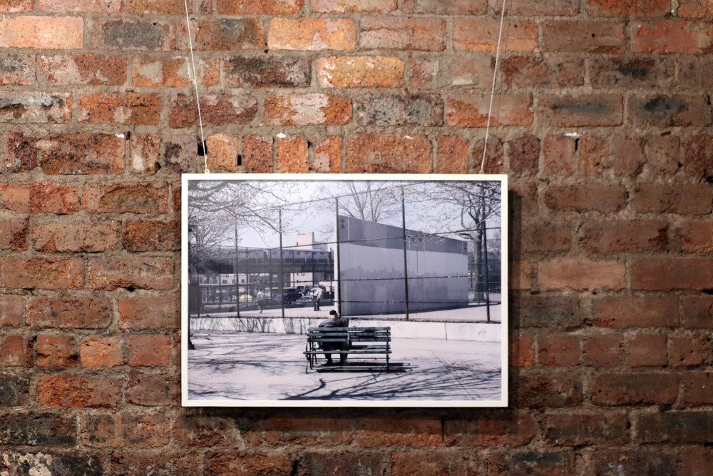 NYC , The Glad Cafe, Glasgow, 5 March - 1 April 2015   Moments on Havemeyer St , 2013  c-type print (framed), 62 x 86.4 cm
