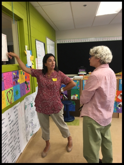 NCTE's Felice Kaufmann and I discuss some of the strategies Inspired Teaching uses with their pre-service teachers. I loved the quotes about education, and plan to use them as an opening activity to get my students thinking about why they are in school.