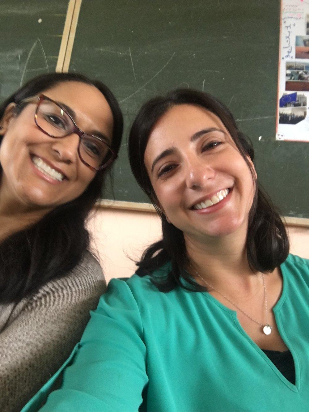 Happy teachers!