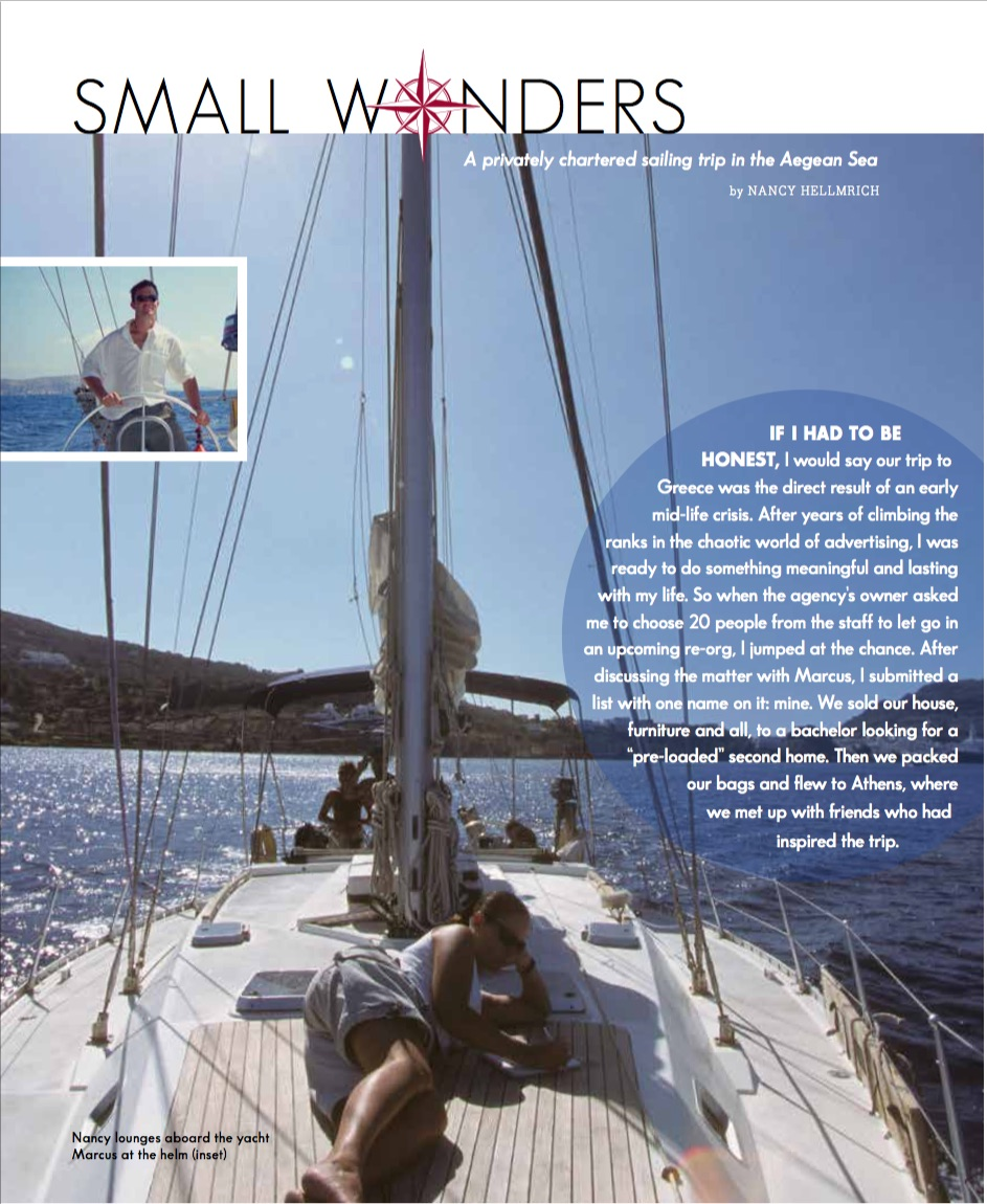 Article: Sailing in Greece