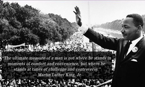 Happy MLK Day!  Let us all remember a man who inspired our nation with words of hope and love. #MLKDay