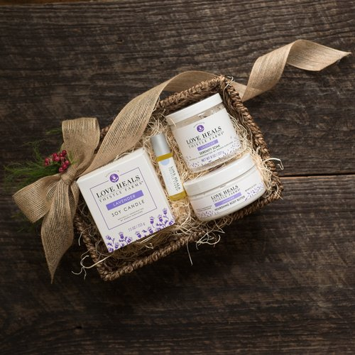 Relaxation Gift Basket by  Thistle Farms