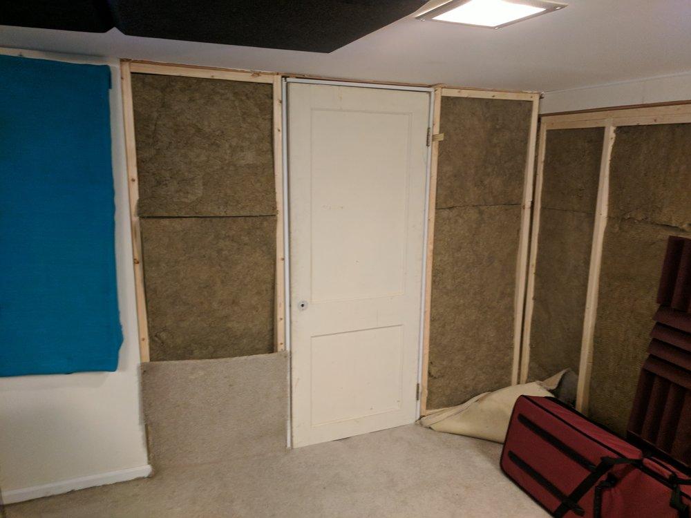 And carpet for a wall!