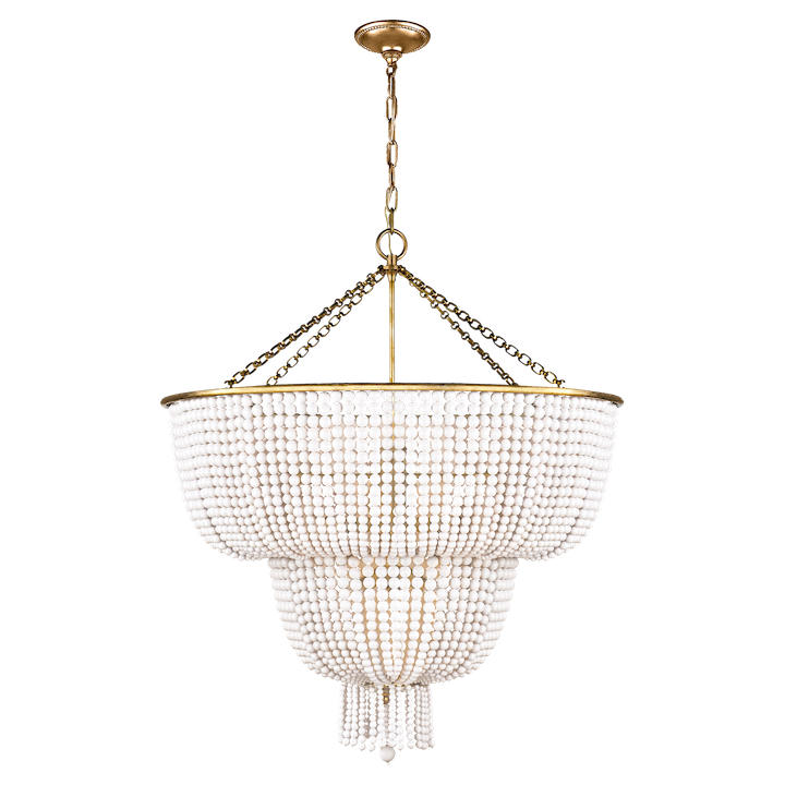 Jacqueline 2-tier Chandelier by Visual Comfort