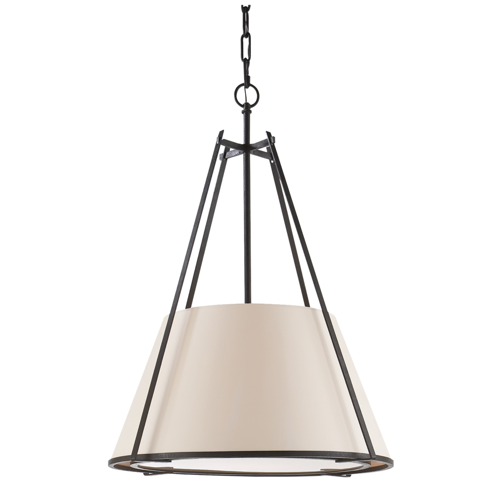 Aspen Large Conical Pendant by Visual Comfort