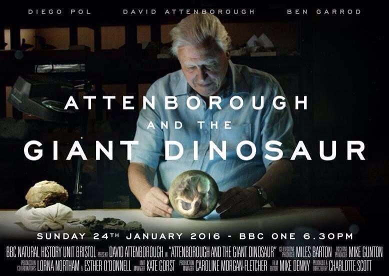 Attenborough & The Giant Dinosaur - BBC