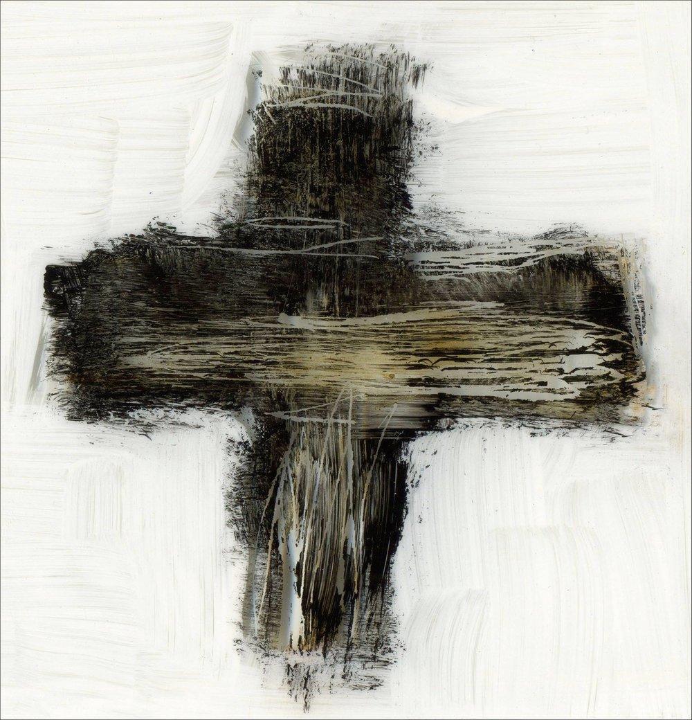 """Image: """"Ash Wednesday Cross"""" © Jan Richardson   janrichardsonimages.com"""