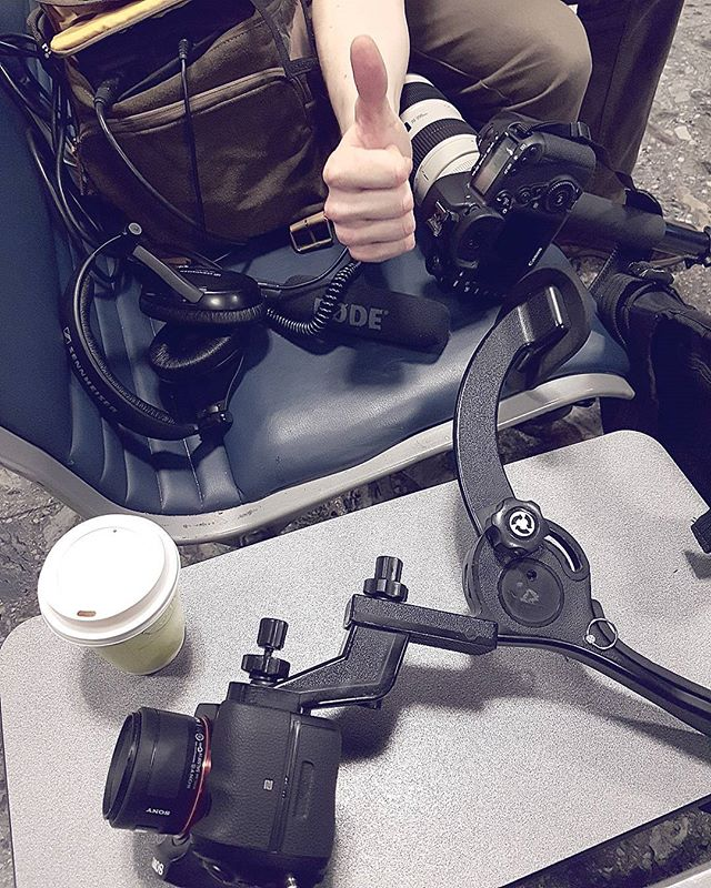 Early morning filming at Shannon Airport!  Bring on the coffee!!! Family reunions! #filming #eighthdoor #videoproduction #8thdoor #earlymornings