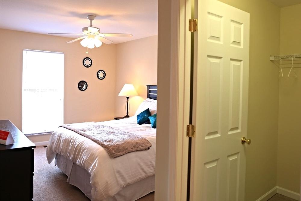 Abbingdon Master Bedroom and Walk-In Closet
