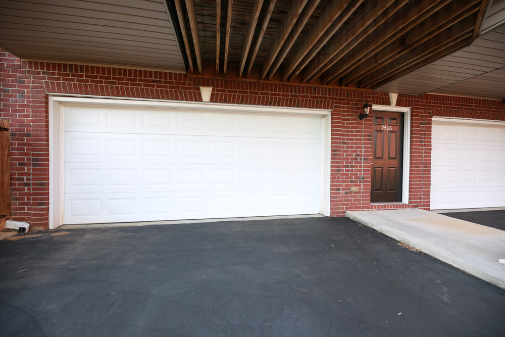 3 Bedroom Townhomes feature a private, attached 1 or 2 car garage.