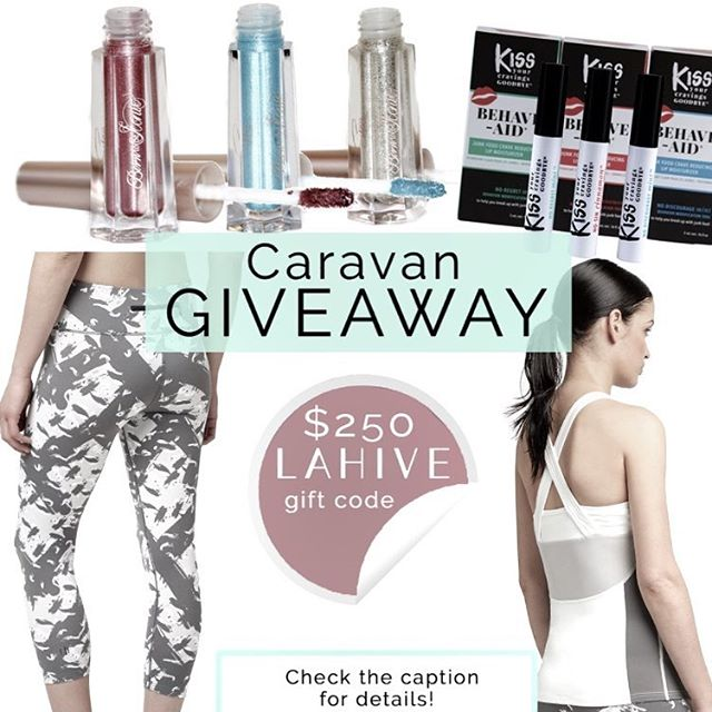 ✨👯‍The CARAVAN HOLIDAY SUITE GIVEAWAY! 👯‍✨We've teamed up with @caravannyc @shoplahive @shereecosmetics @kissyourcravingsgoodbye for this fab giveaway that you AND a friend that you TAG can win. Like this post and then head over to the original graphic on @caravannyc for official entry + instructions. Good luck! 🎉 @janinejustinc