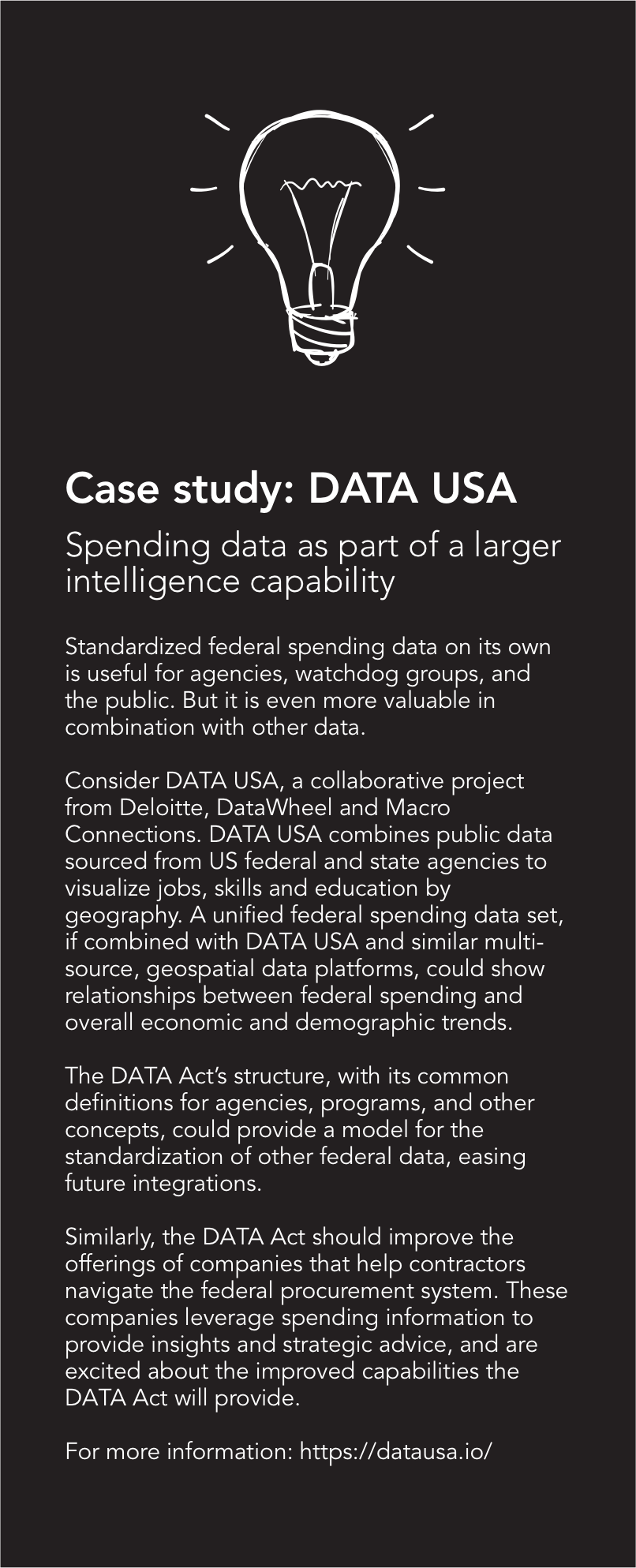 Case study: DATA USA