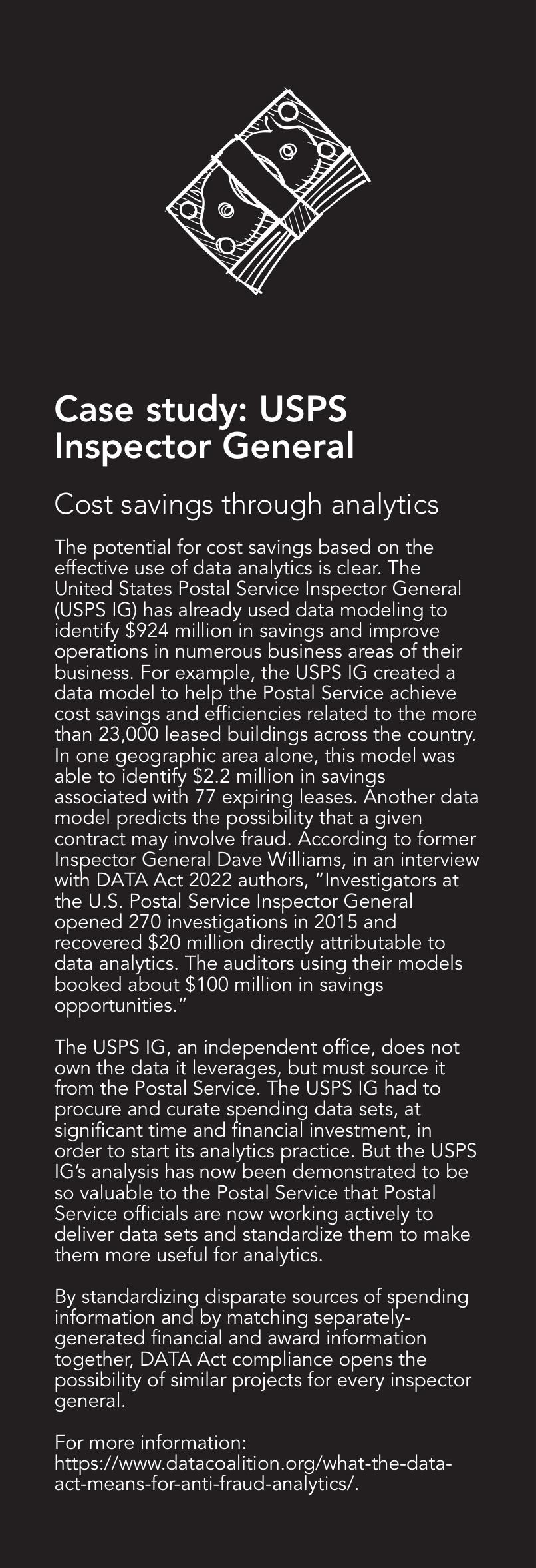 Case study: USPS Inspector General