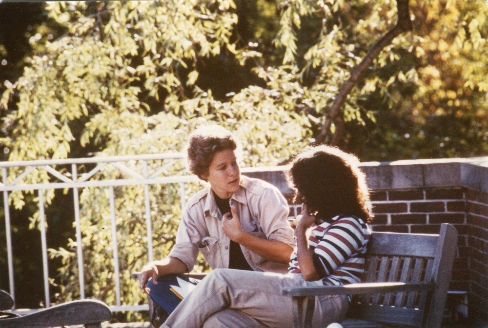 Alison Jaggar and Vicky Spelman, 1982.  Society for Women in Philosophy Collection, Feminist Theory Archive, Brown University