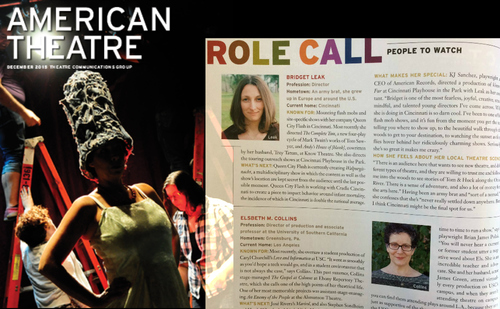 American Theatre Magazine  Feature