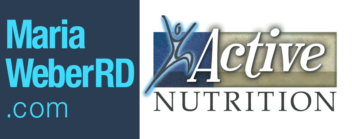 Maria Weber RD - Nutritionist