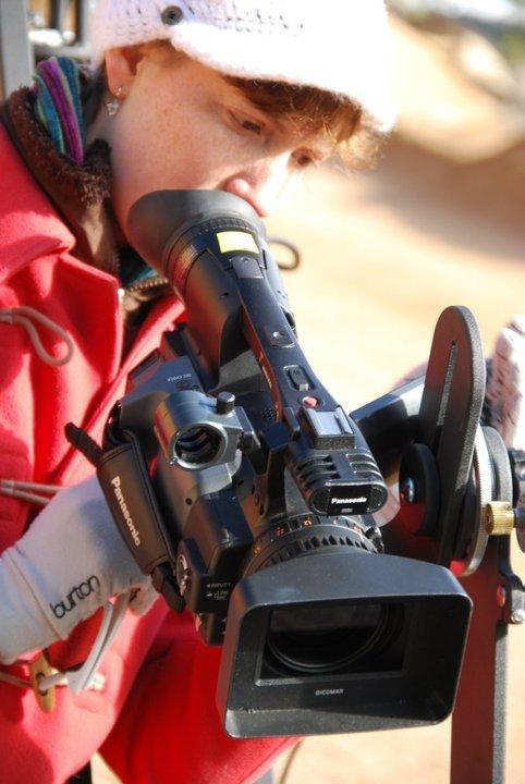 SarahOnCamera