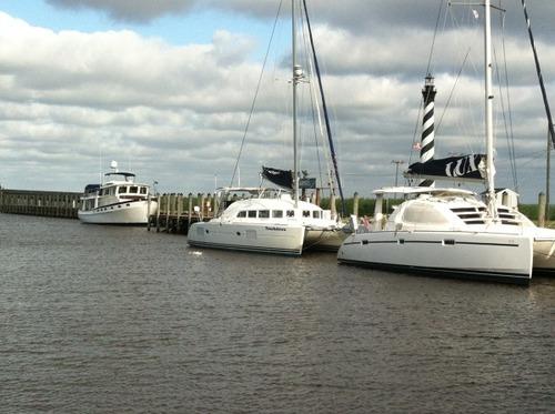 Day 19 - Belhaven to Alligator River Marina/ Columbia, NC
