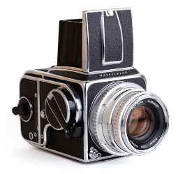 Hasselblad 500 Series camera (120 film)