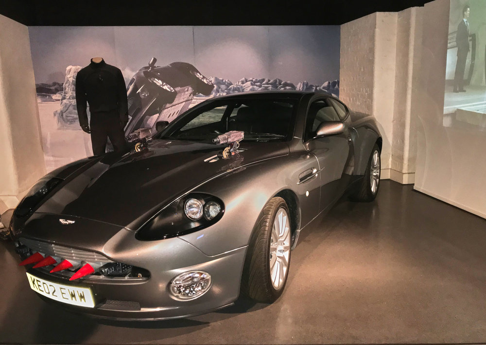"We've been in London for a few days and went to the ""Bond in Motion"" exhibition at the British Film Museum near Covent Garden. Well worth a visit if you get the chance."