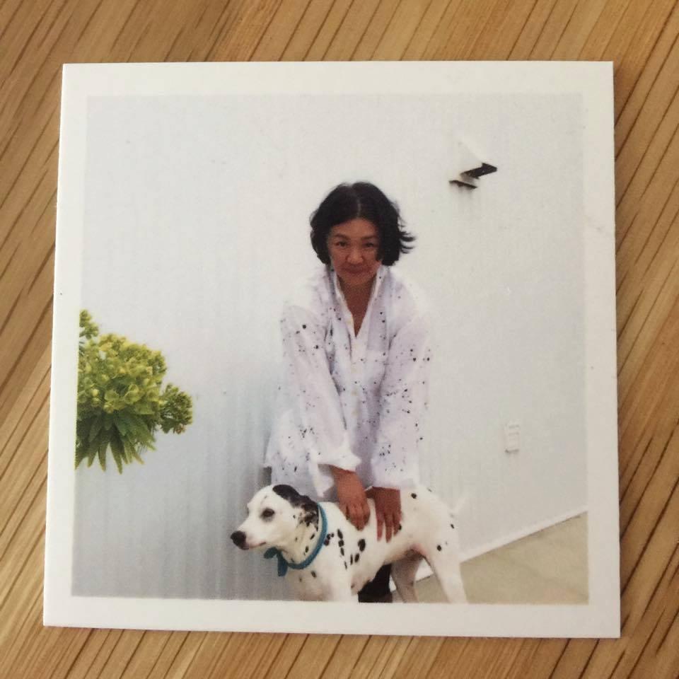 Keikoさんと愛犬Sky