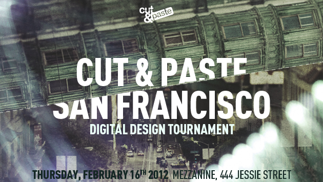 Creative Session Participating in 2012 SF Cut& Paste