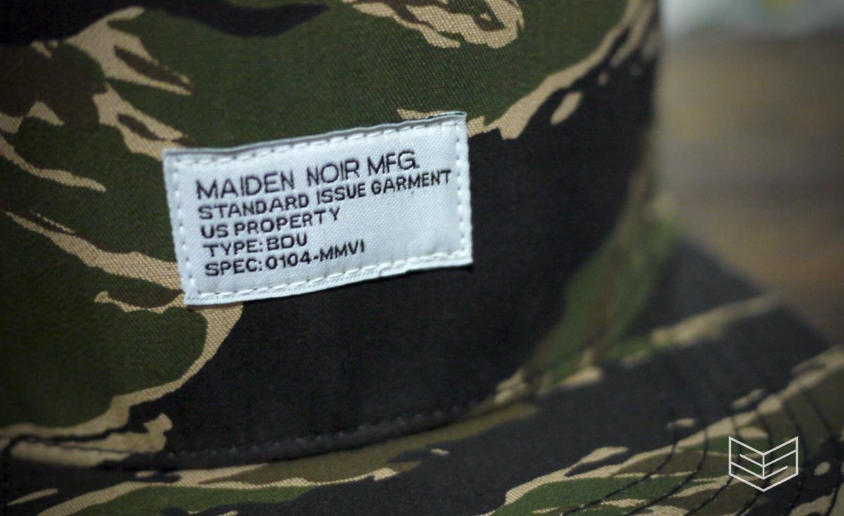 Maiden Noir Tiger camo snapback cap Creativesession