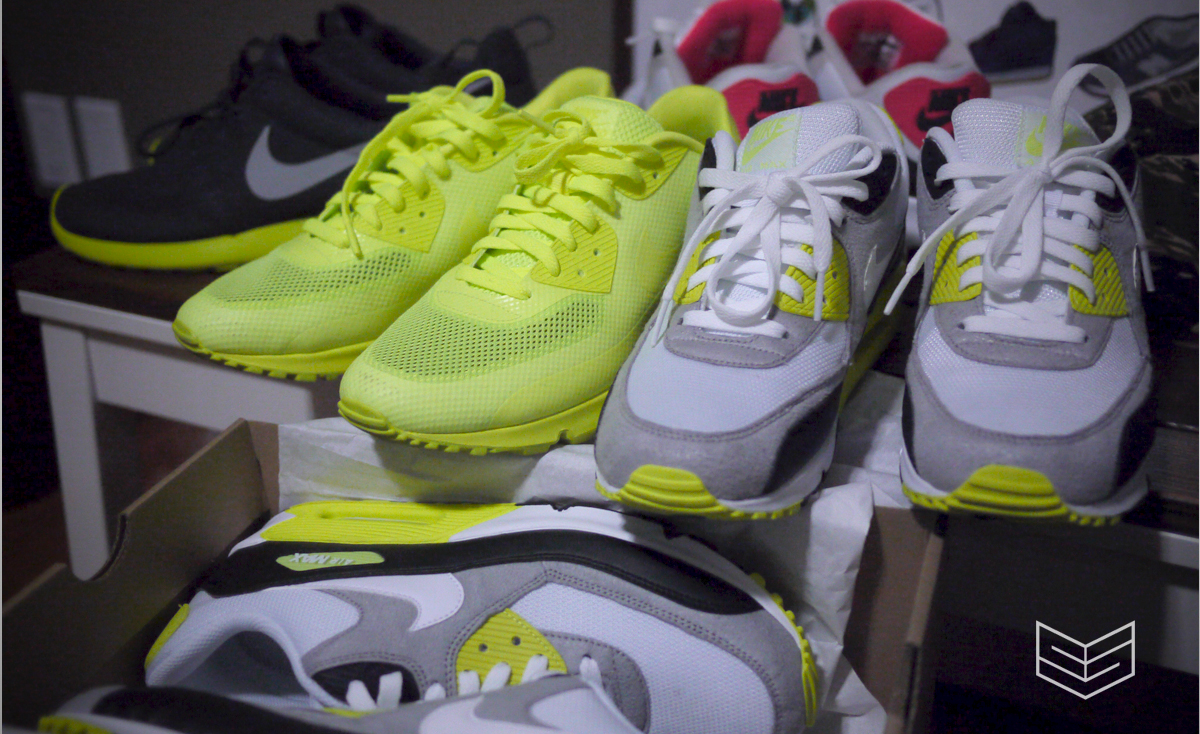 volt infrared nike airmax 90 creativesession
