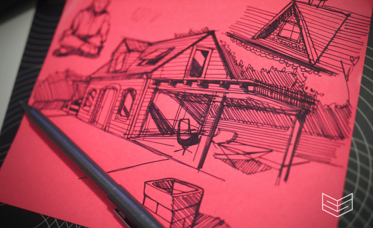 house architechture sketch design creativesession