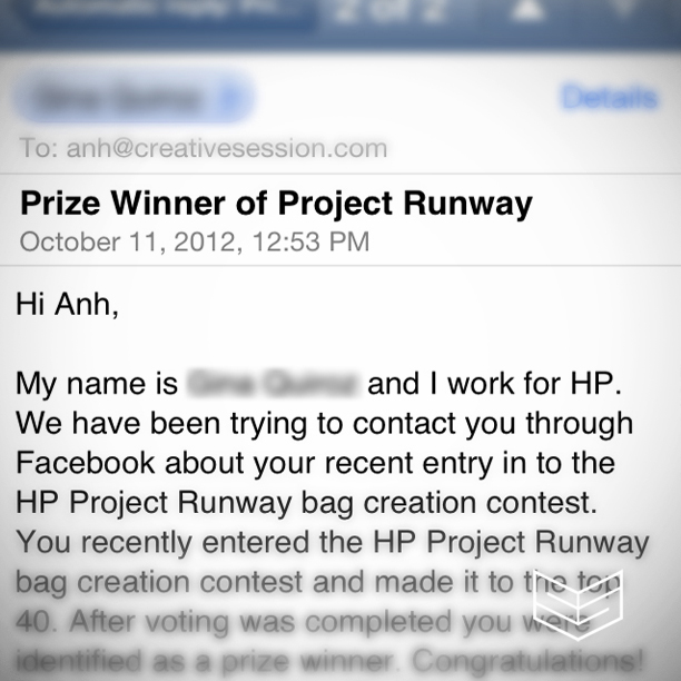 project runway hp design creativesession competition