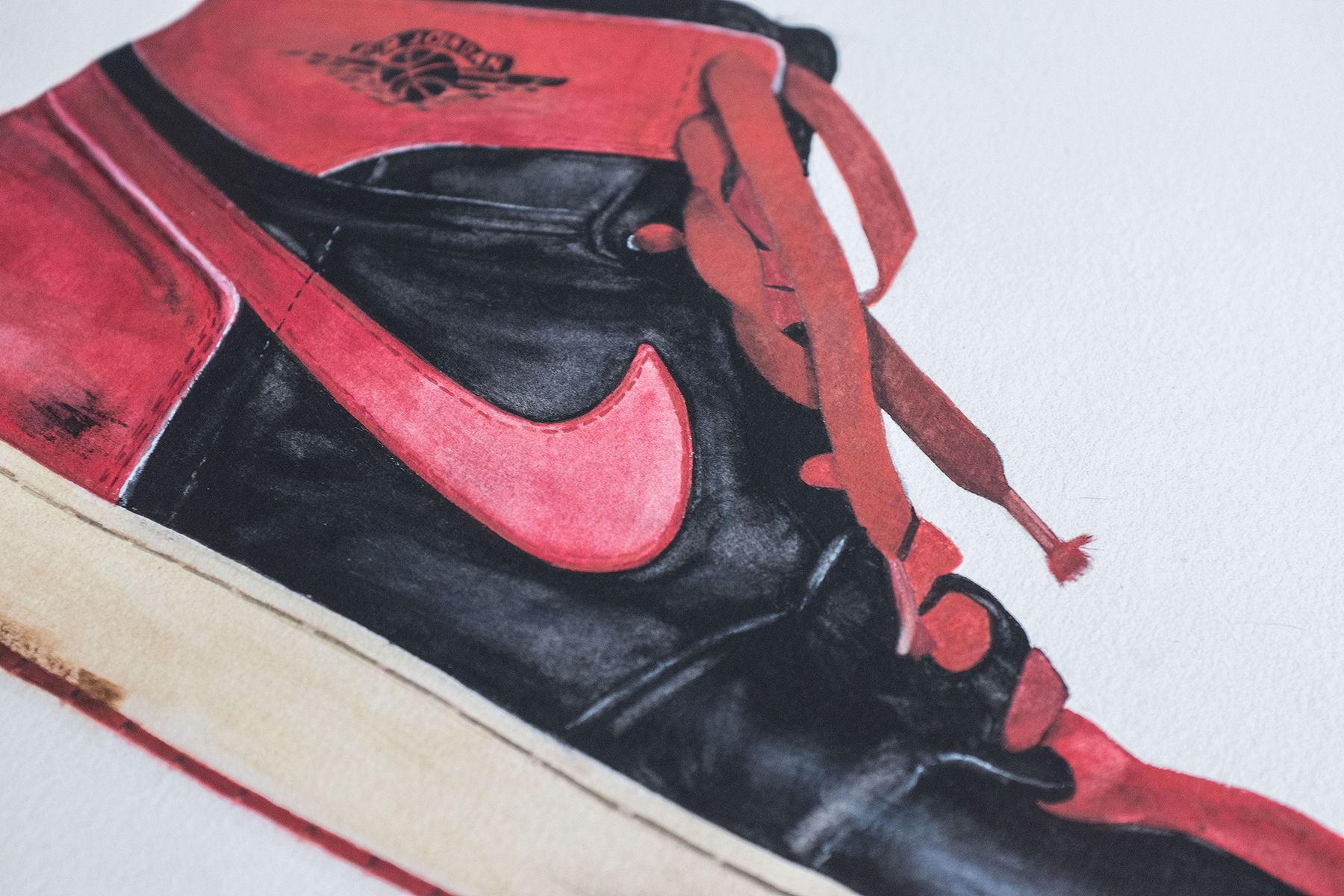 bakersson  creativesession jordan nike bred
