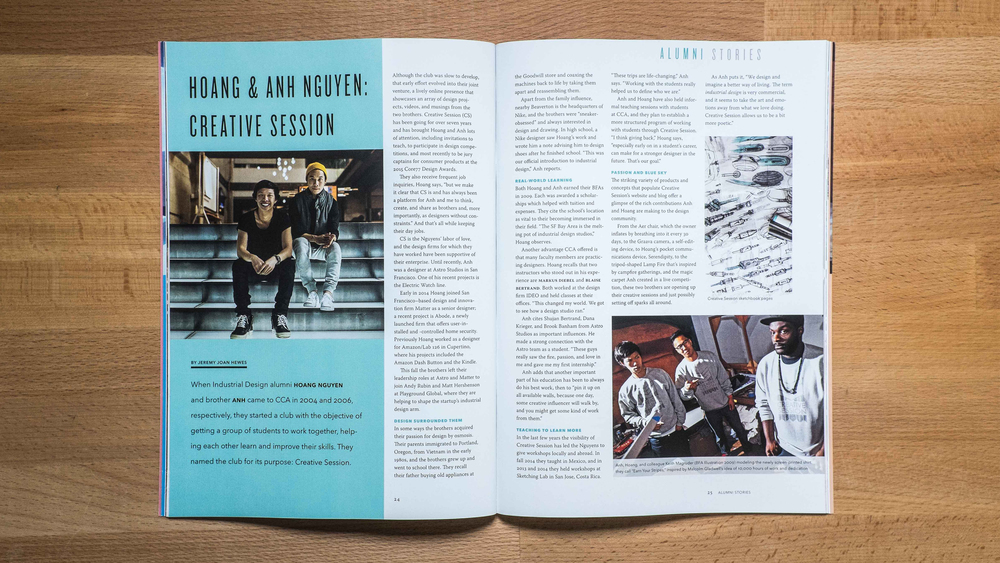 Alumni Stories featuring the CreativeSession brothers