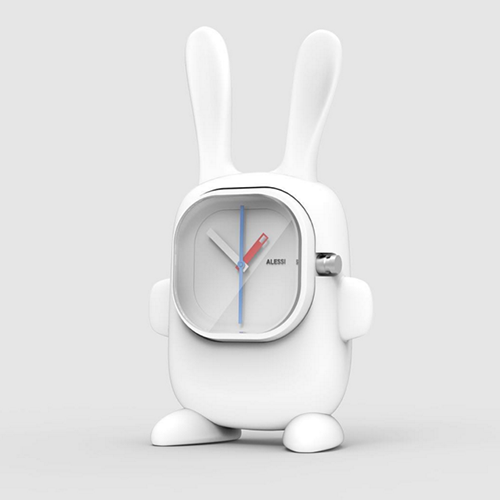Late for an important date White Rabbit by Maxence Derreumaux