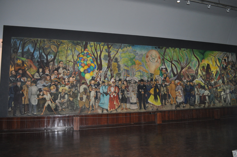 Mural at Diego Rivera Museum