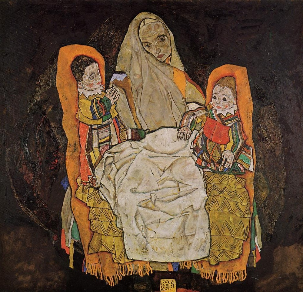 """Mother with two children III"" (1915-1917)"