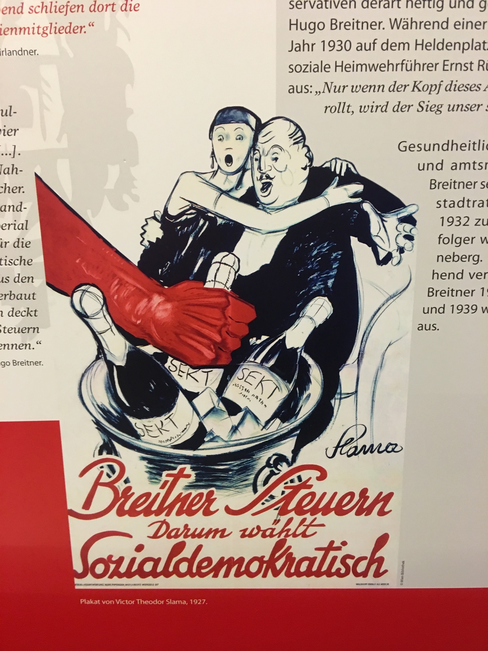 Election Poster for Breitner