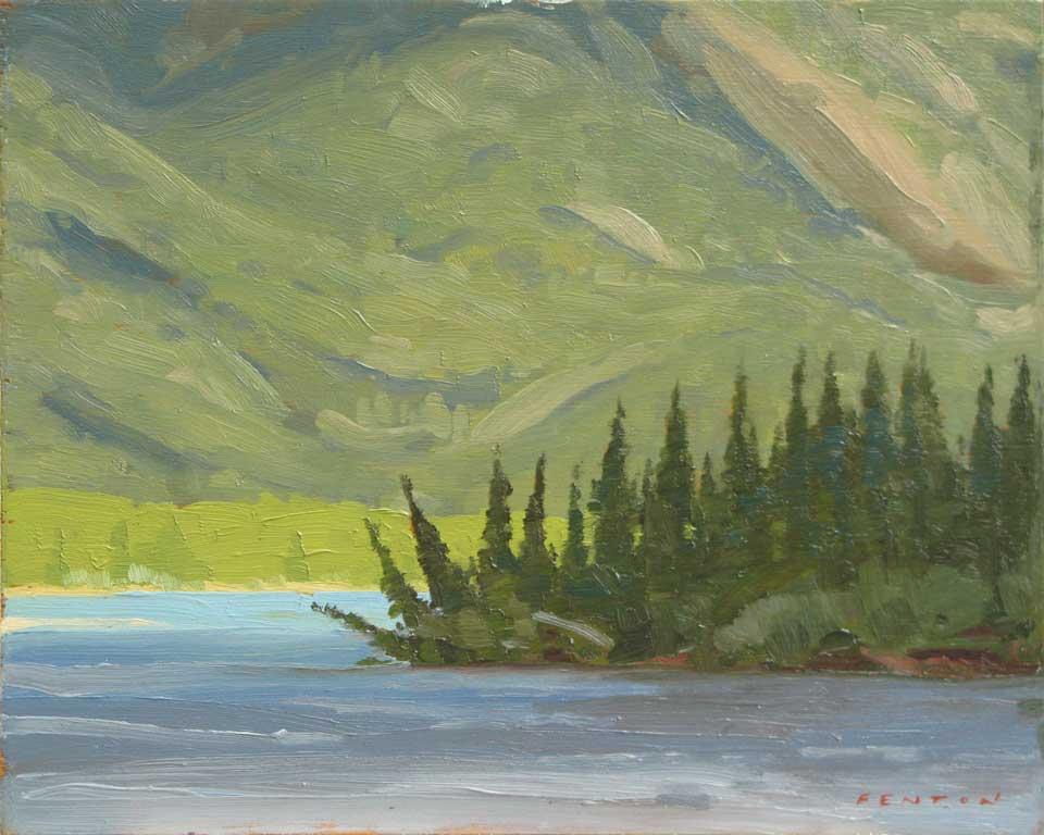 Celestine Lake, Jasper