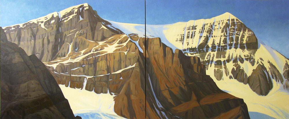 Mount Andromeda - 60x144 inch