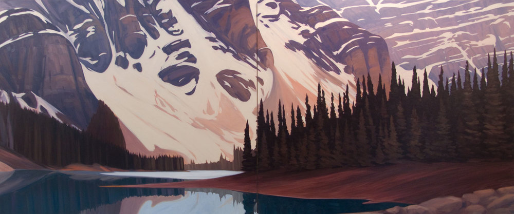 Moraine Lake - 60x144 inch