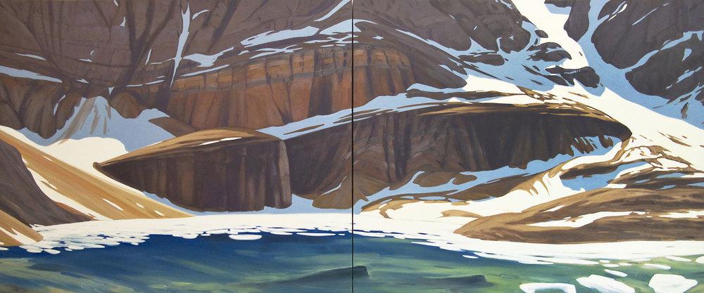 Lake Oesa - 60x144 inch