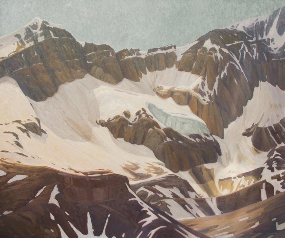 Mount Odaray - 60x72 inch