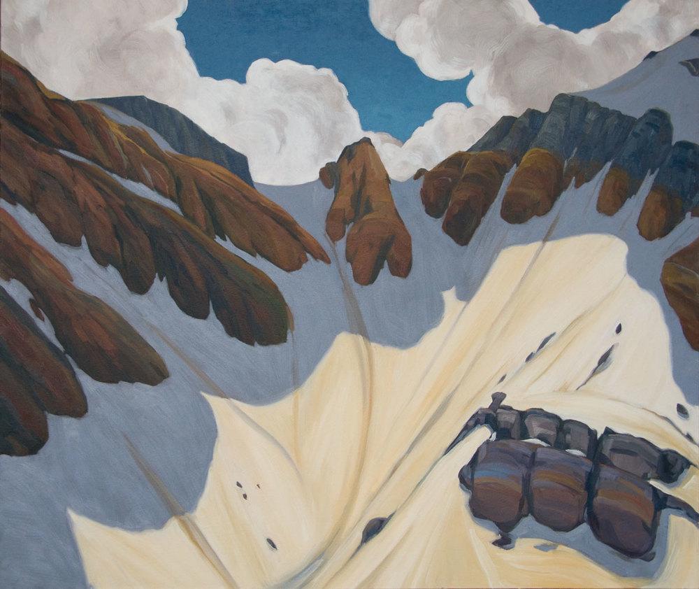 Sheol Valley - 32x38 inch