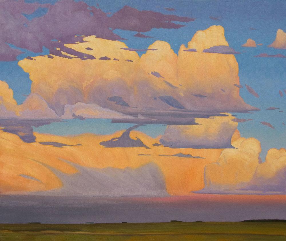 Prairie Sky - 32x38 inch
