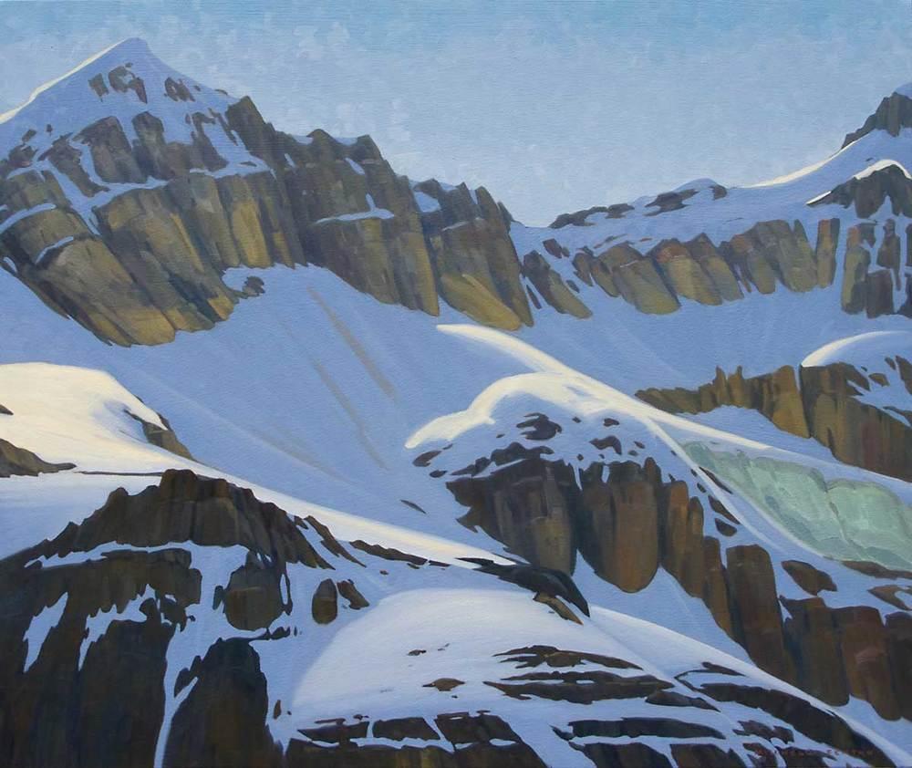 Mount Odaray - 32x38 inch
