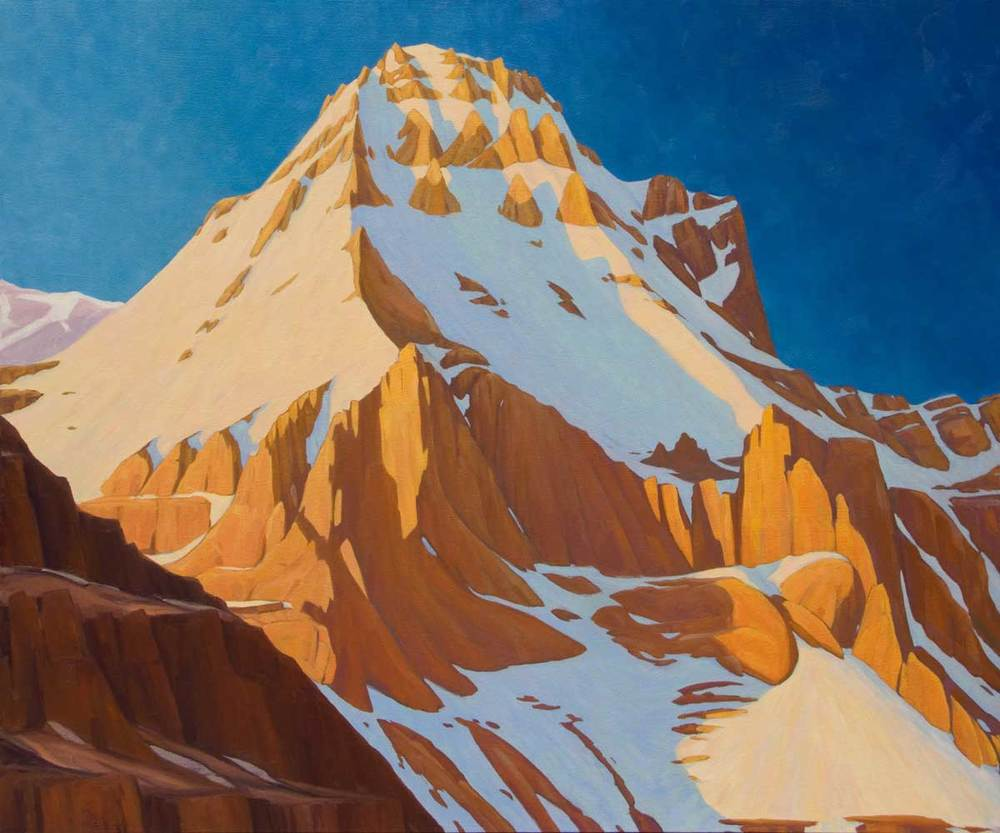 Mount Huber - 40x48 inch
