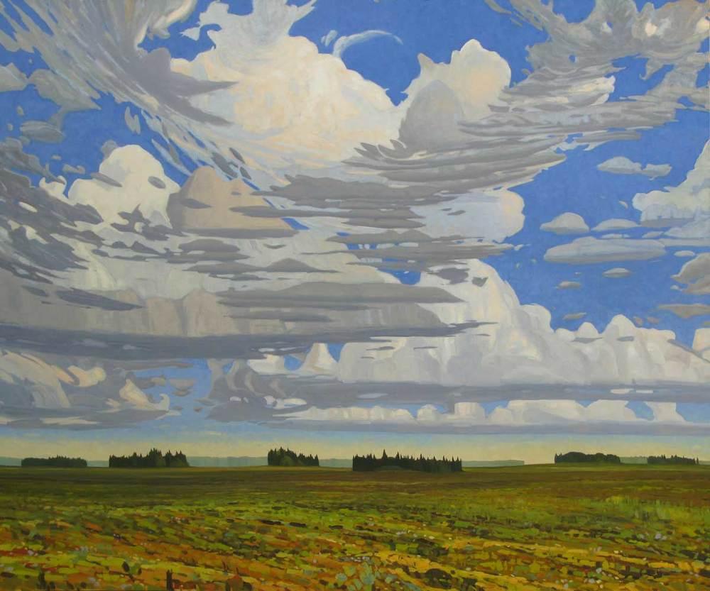 Sky Maidstone Saskatchewan - 60x72 inch