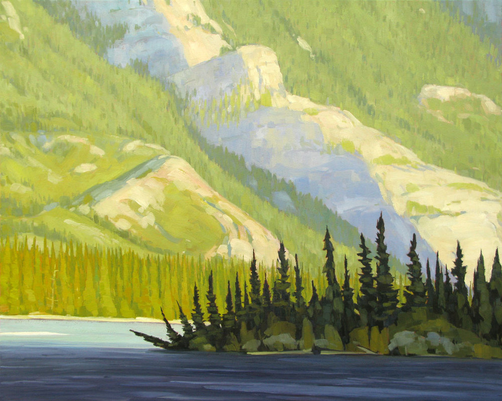 Celestine Lake - 32x40 inch