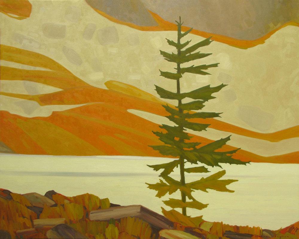 Tree Opabin Plateau - 48x60 inch
