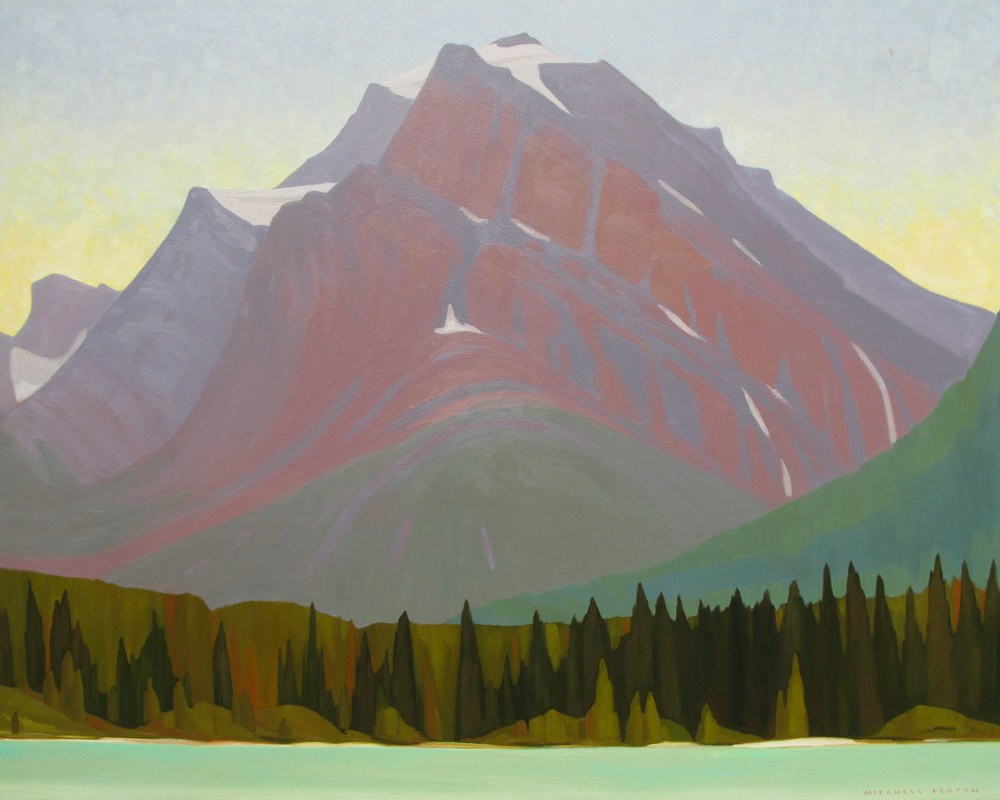 Waterfowl Lake - 48x60 inch