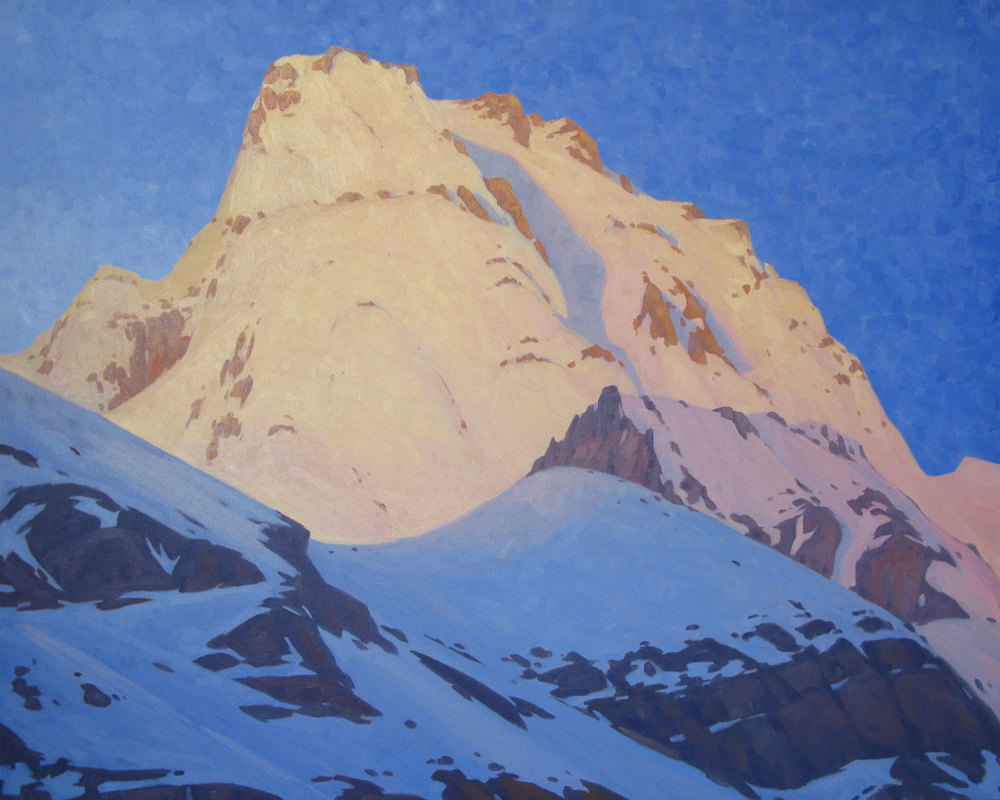 Glacier Peak - 32x40 inch